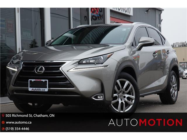 2017 Lexus NX 200t Base (Stk: 21613) in Chatham - Image 1 of 27