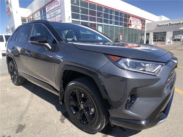 2021 Toyota RAV4 Hybrid XLE (Stk: 210563) in Calgary - Image 1 of 12