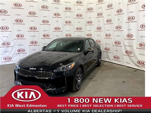 2022 Kia Stinger GT Elite w/Black Interior (Stk: 22944) in Edmonton - Image 1 of 32