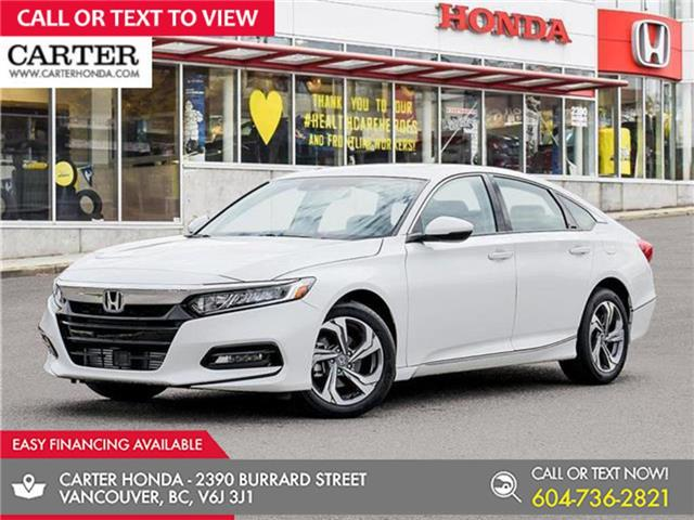 2021 Honda Accord EX-L 1.5T (Stk: 6M07650) in Vancouver - Image 1 of 23