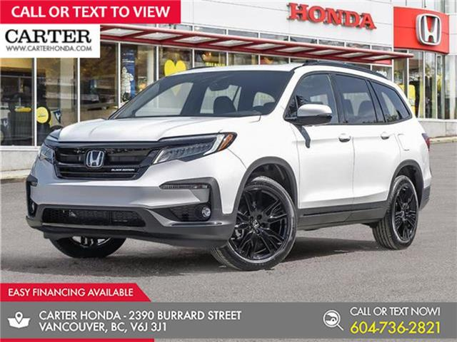 2021 Honda Pilot Black Edition (Stk: 1M71410) in Vancouver - Image 1 of 24
