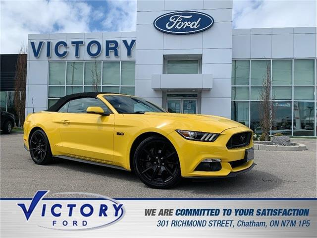 2017 Ford Mustang  (Stk: V20097A) in Chatham - Image 1 of 30
