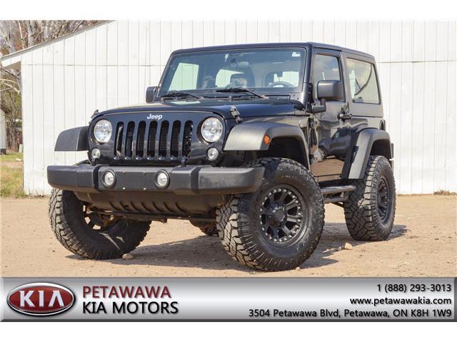 2018 Jeep Wrangler JK Sport (Stk: 21024A) in Petawawa - Image 1 of 22