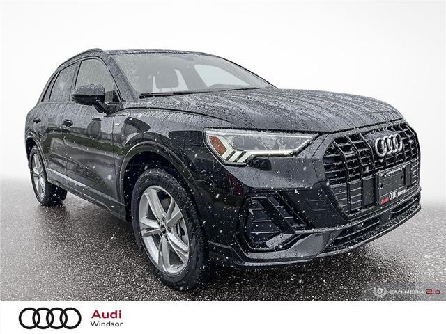 2021 Audi Q3 45 Technik (Stk: 21151) in Windsor - Image 1 of 30
