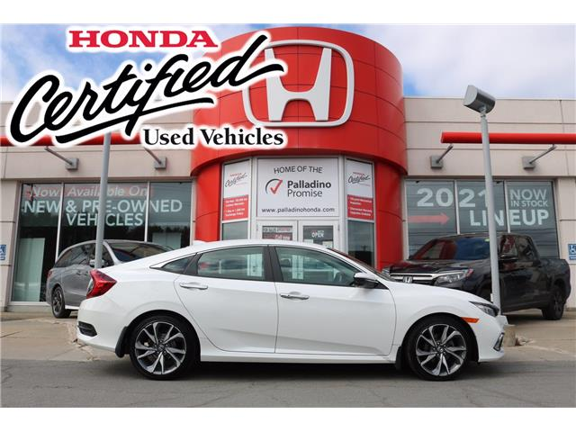 2019 Honda Civic Touring (Stk: 23105A) in Greater Sudbury - Image 1 of 38