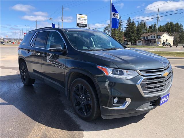 2019 Chevrolet Traverse LT 1GNEVGKW0KJ232054 11467A in Sault Ste. Marie