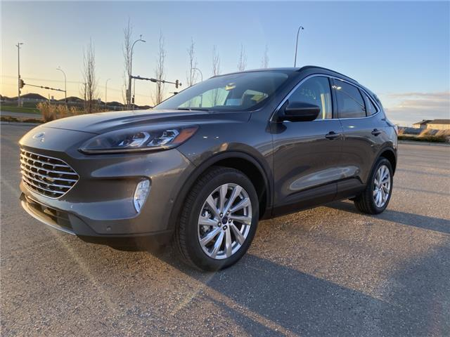 2021 Ford Escape Titanium Hybrid (Stk: MSC012) in Fort Saskatchewan - Image 1 of 23