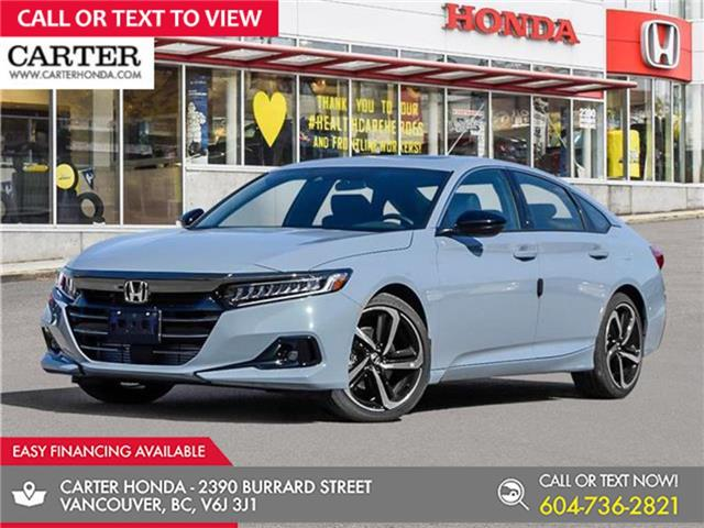 2021 Honda Accord Sport 2.0T (Stk: 6M03100) in Vancouver - Image 1 of 24