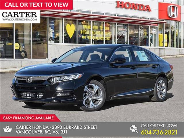 2021 Honda Accord EX-L 1.5T (Stk: 6M10150) in Vancouver - Image 1 of 24