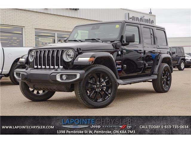2021 Jeep Wrangler Unlimited 4xe Sahara (Stk: 21099) in Pembroke - Image 1 of 13
