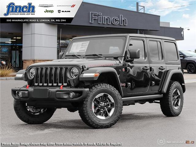 2021 Jeep Wrangler Unlimited Rubicon (Stk: ) in London - Image 1 of 24