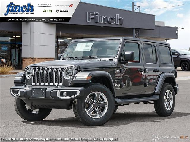 2021 Jeep Wrangler Unlimited Sahara (Stk: ) in London - Image 1 of 24