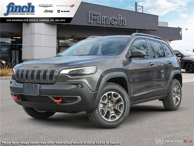 2021 Jeep Cherokee Trailhawk (Stk: ) in London - Image 1 of 20