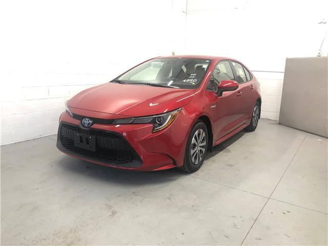 2021 Toyota Corolla Hybrid Base w/Li Battery (Stk: CX052) in Cobourg - Image 1 of 8