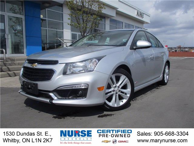 2015 Chevrolet Cruze 2LT (Stk: 21U080A) in Whitby - Image 1 of 27