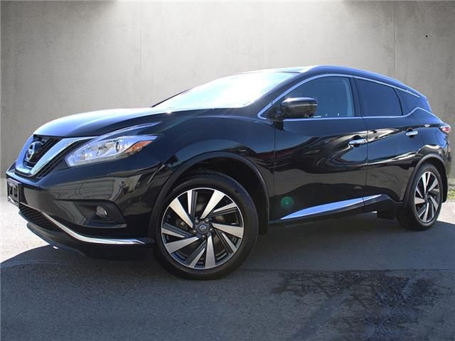 2017 Nissan Murano Platinum (Stk: N09-6833A) in Chilliwack - Image 1 of 15