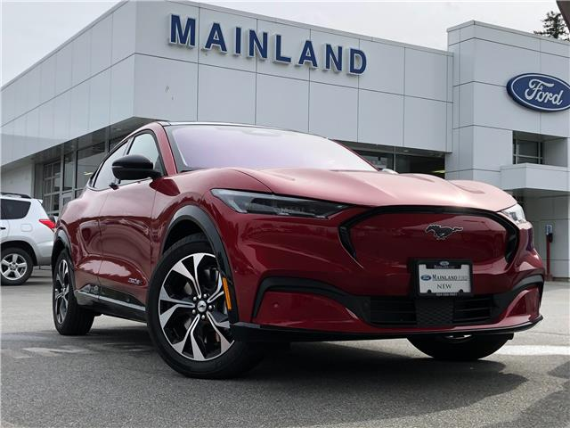 2021 Ford Mustang Mach-E Premium (Stk: 21ME8247) in Vancouver - Image 1 of 30