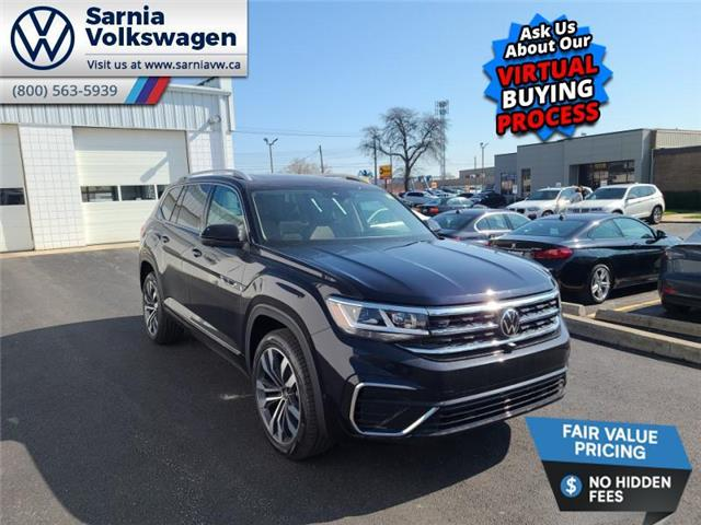 2021 Volkswagen Atlas 3.6 FSI Execline (Stk: V21104) in Sarnia - Image 1 of 23