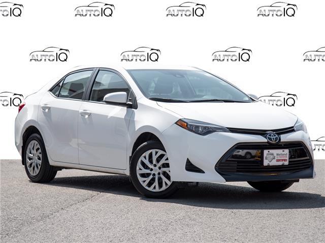 2019 Toyota Corolla LE White