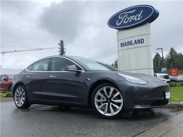 2018 Tesla Model 3 Long Range (Stk: 9MU0982AAA) in Vancouver - Image 1 of 27