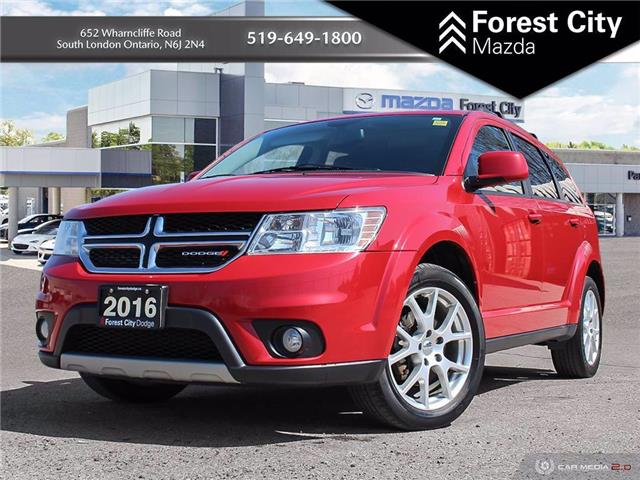 2016 Dodge Journey SXT/Limited (Stk: 21C36676B) in London - Image 1 of 33
