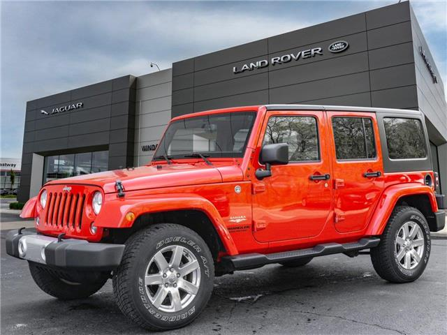 2015 Jeep Wrangler Unlimited Sahara (Stk: TO65226) in Windsor - Image 1 of 13