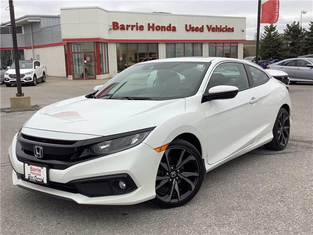 2019 Honda Civic Sport (Stk: U19645) in Barrie - Image 1 of 27