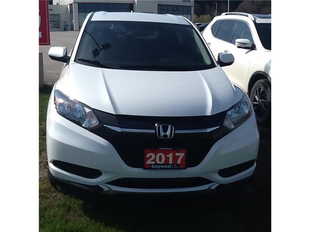 2017 Honda HR-V LX (Stk: 21073a) in Owen Sound - Image 1 of 9
