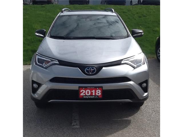 2018 Toyota RAV4 Hybrid SE (Stk: 21250a) in Owen Sound - Image 1 of 13