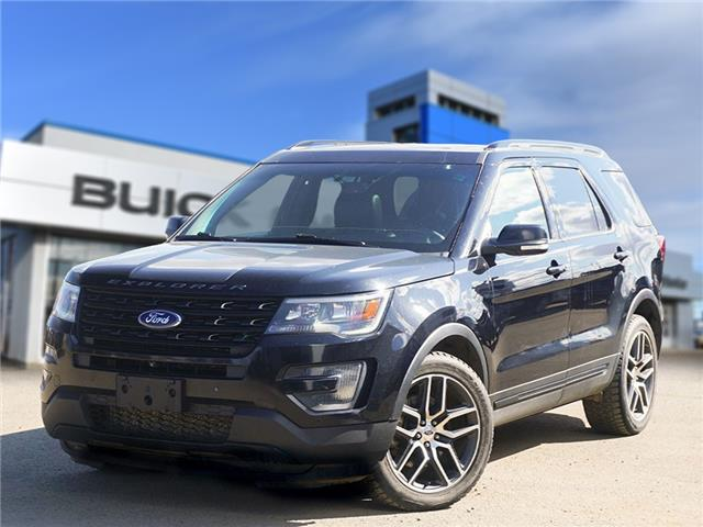 2016 Ford Explorer Sport (Stk: T21-1879A) in Dawson Creek - Image 1 of 7