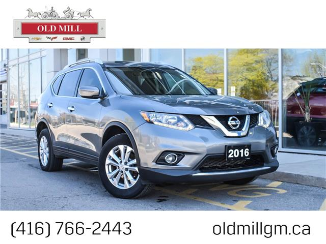 2016 Nissan Rogue SV (Stk: 821586U) in Toronto - Image 1 of 27