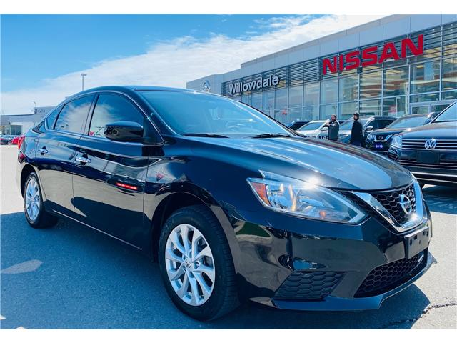 2018 Nissan Sentra 1.8 SV (Stk: N1569A) in Thornhill - Image 1 of 20