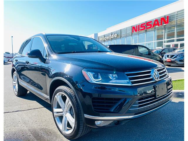 2016 Volkswagen Touareg 3.6L Highline (Stk: N1875A) in Thornhill - Image 1 of 23