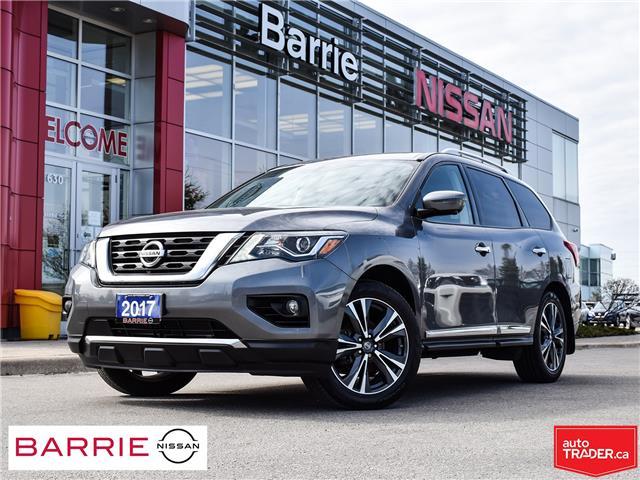 2017 Nissan Pathfinder Platinum (Stk: 21065AA) in Barrie - Image 1 of 30