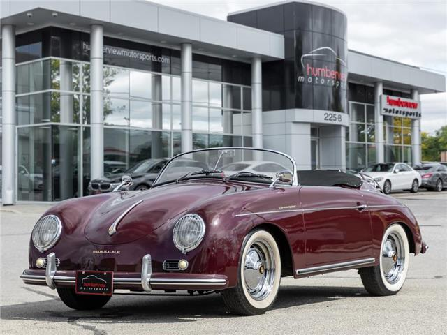 1958 Porsche 356 356 SPEEDSTER CONVERSION|MANUAL|CLEAN!! (Stk: 21HMS311) in Mississauga - Image 1 of 32