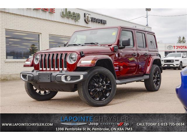 2021 Jeep Wrangler Unlimited 4xe Sahara (Stk: 21098) in Pembroke - Image 1 of 28