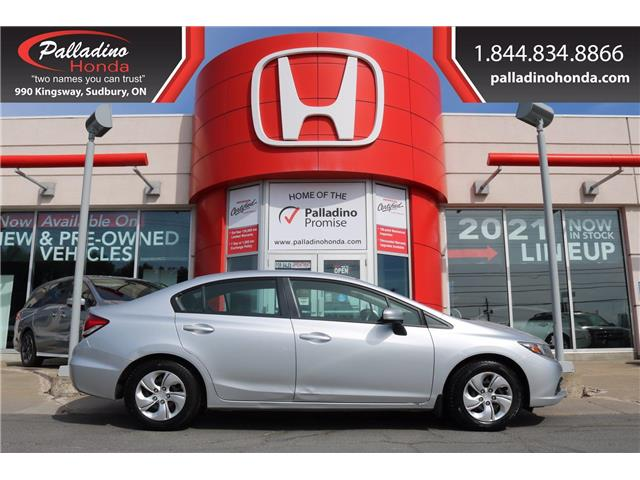 2014 Honda Civic LX (Stk: 23197A) in Sudbury - Image 1 of 27
