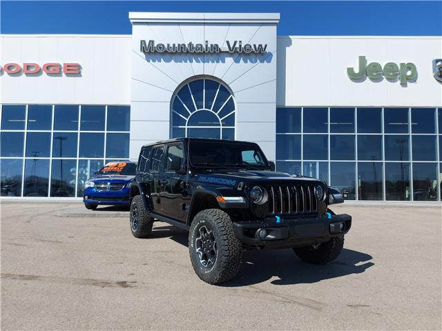 2021 Jeep Wrangler Unlimited 4xe Rubicon (Stk: AM075) in Olds - Image 1 of 25