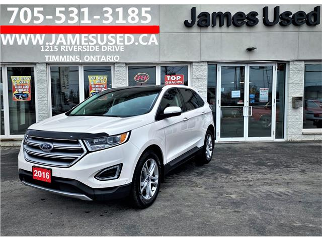 2016 Ford Edge Titanium (Stk: N21247A) in Timmins - Image 1 of 14