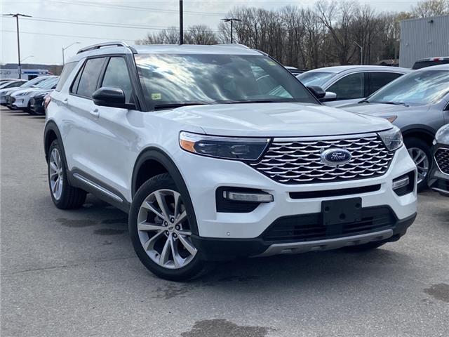 2021 Ford Explorer Platinum (Stk: 021T86) in Midland - Image 1 of 3