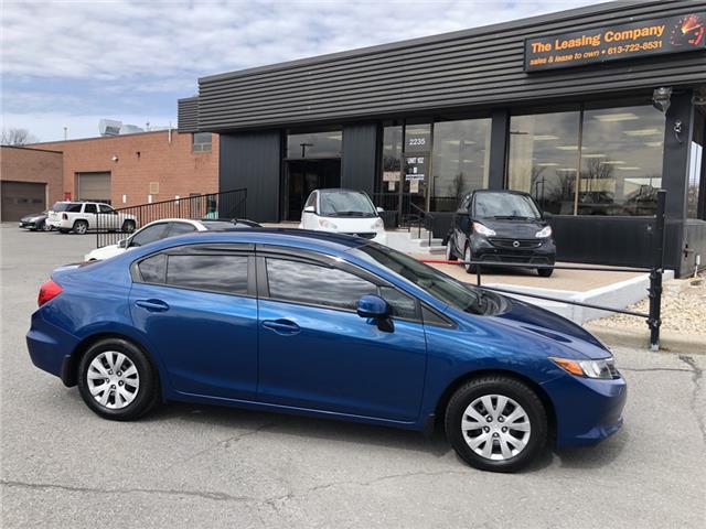 2012 Honda Civic LX (Stk: ) in Ottawa - Image 1 of 23