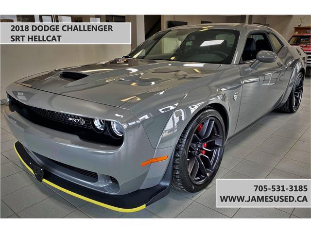 2018 Dodge Challenger SRT Hellcat (Stk: P02938) in Timmins - Image 1 of 7