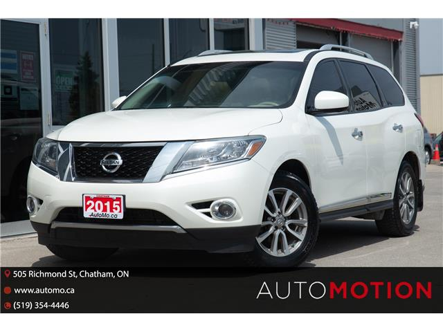 2015 Nissan Pathfinder  (Stk: 21612) in Chatham - Image 1 of 29