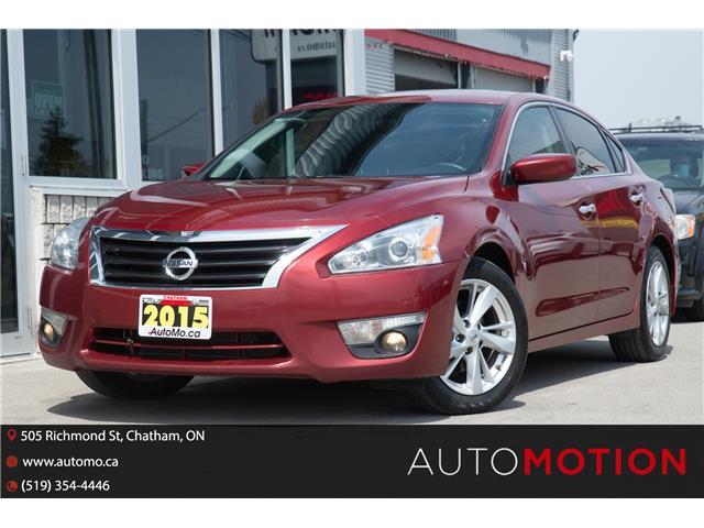 2015 Nissan Altima  (Stk: 21688) in Chatham - Image 1 of 24