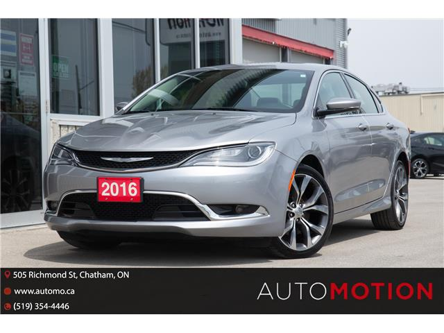 2016 Chrysler 200 C (Stk: 21716) in Chatham - Image 1 of 24