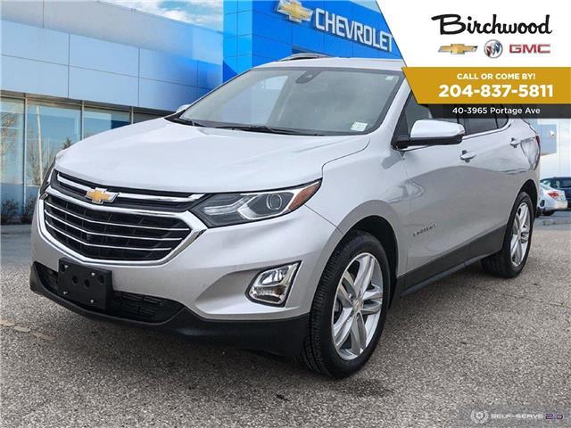 2019 Chevrolet Equinox Premier (Stk: F3XY7N) in Winnipeg - Image 1 of 27