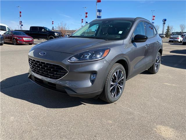 2021 Ford Escape SEL (Stk: M-535) in Calgary - Image 1 of 6