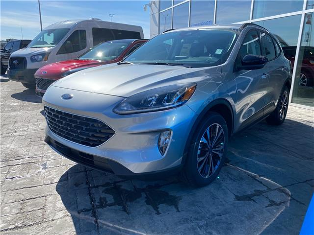 2021 Ford Escape SEL (Stk: M-537) in Calgary - Image 1 of 5