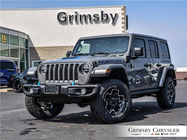 2021 Jeep Wrangler Unlimited 4xe Rubicon (Stk: N21186) in Grimsby - Image 1 of 26