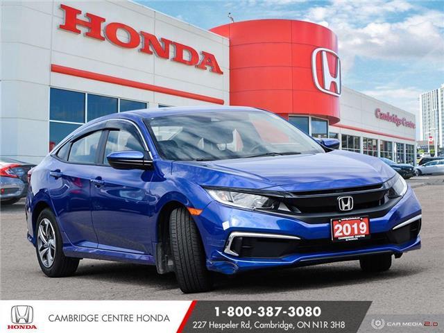 2019 Honda Civic LX (Stk: 21569A) in Cambridge - Image 1 of 27